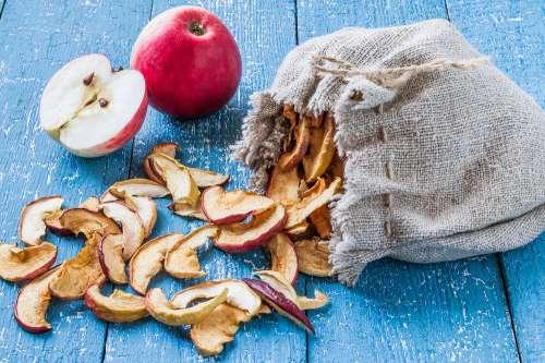 Gut gemocht Apfel getrocknet (geschwefelt) - Lebensmittel-Warenkunde RN72